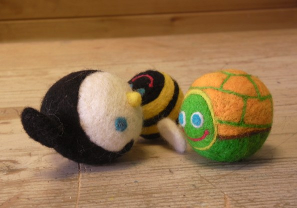 NeedleFelted Creatures