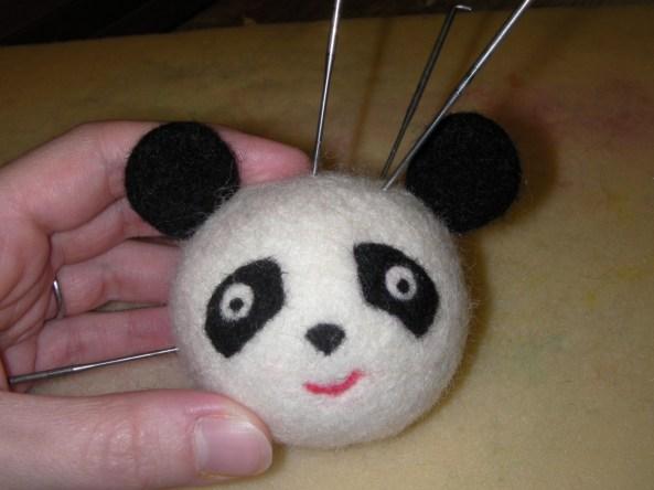 Felt Panda Bear