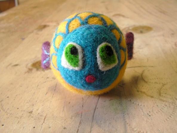 Felt Fish Toy