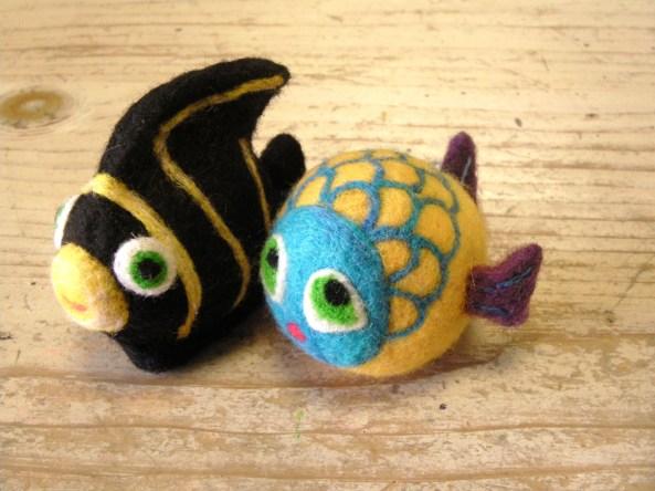 Felt Fish Toys