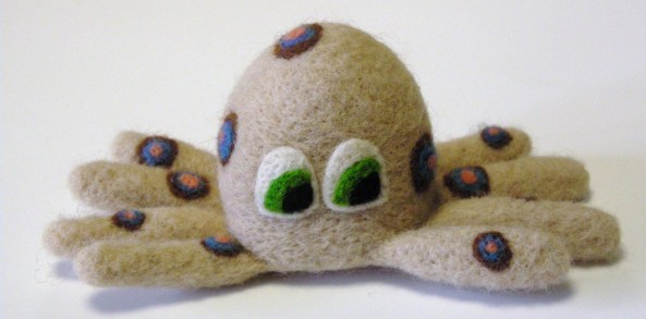 Felt Octopus Toy