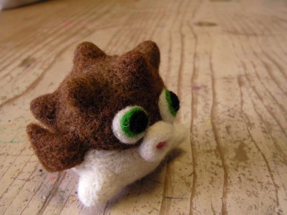 Felt Pufferfish Toy
