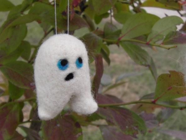 Felt Ghost Toy