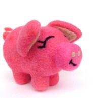 needle felt pig