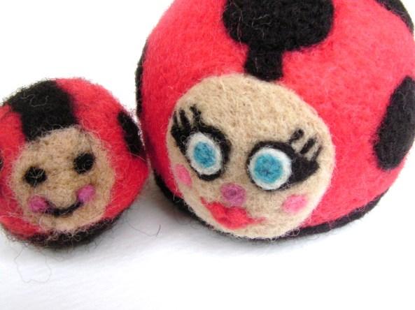 felt ladybug toys