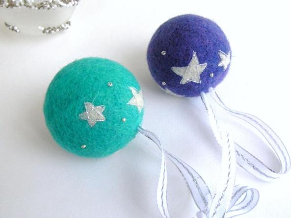 Needle Felt Ornaments