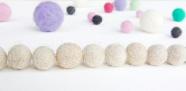 how to wet felt beads