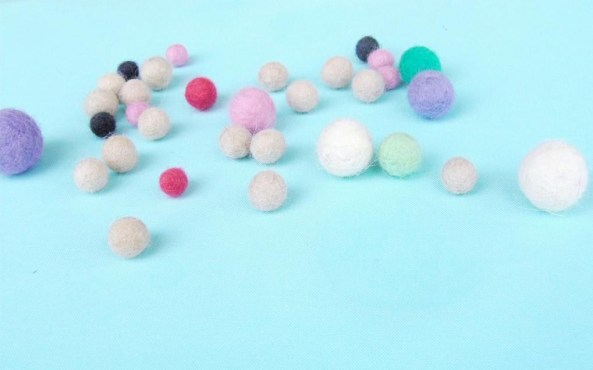 wet felting beads